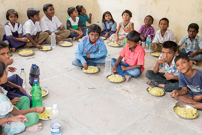 Mid-Day-Meal for school children